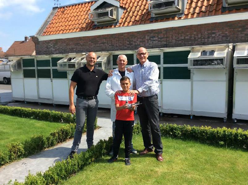 Levi van der Weijden wint Nationaal Narbonne ZLU deel 1