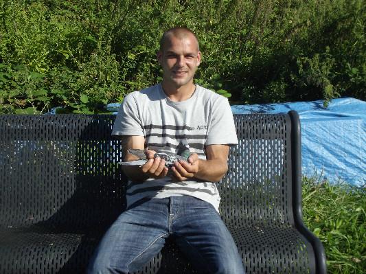 Jay Lissenberg, Utrecht, Winnaar Criterium der Azen Marathon Noord Deel 1