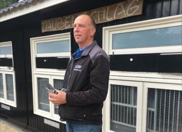 Wim Weerink, Wierden, snelste Limoges-duif 2017