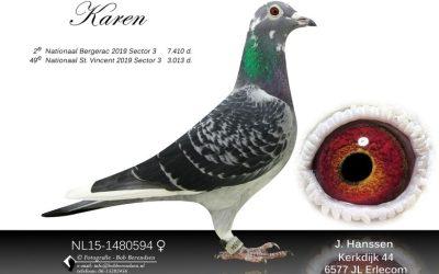 Topper van 2019 … 'Karen' van Hans Hanssen