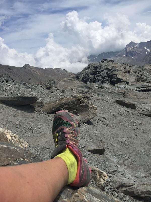 Välanvända Fellraiser i dammiga Franska alper. Foto: privat