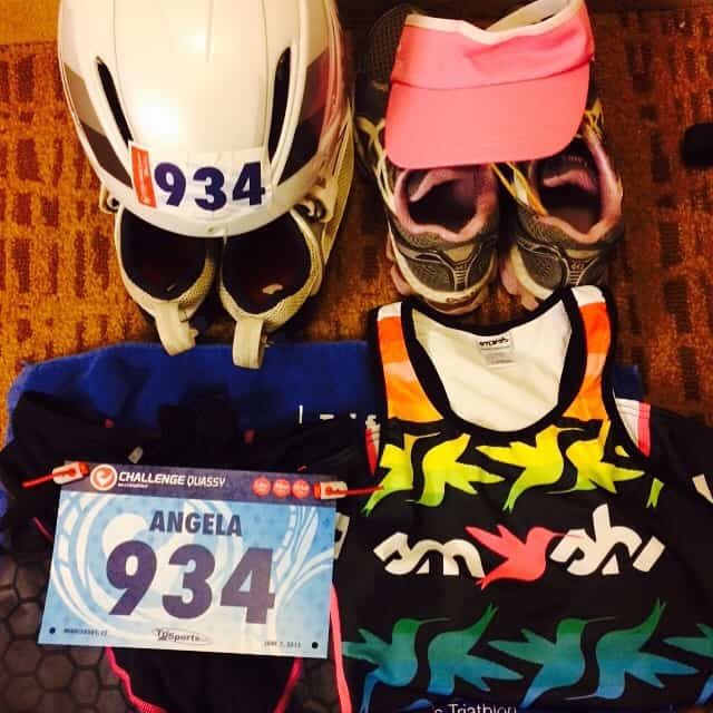 Five Triathlon Race Day Tips: Sprint Triathlon | Half Ironman Triathlon | Olympic Distance Triathlon | Ironman Triathlon | #triathlon #triathlontips