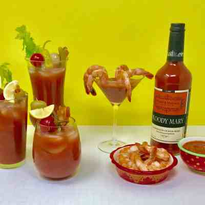 Smoky Bacon Bloody Mary Cocktail Sauce