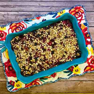 Gluten-Free Berry Blast Breakfast Bake