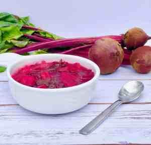 Kick the Sick Beet Soup!