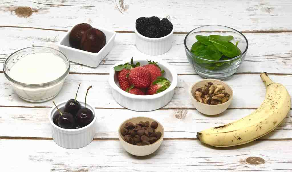 Red Velvet Smoothie Bowl Ingredients