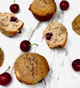Cherry Coconut Muffins