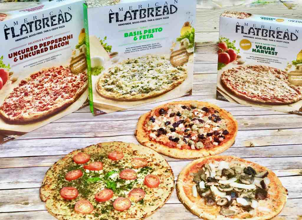 Tips for quick and easy weeknight meals: Meal Prep, Meal Planning, Doubling recipes, Frozen American Flatbread Pizzas #ad #AmericanFlatBreadFrozenPizza