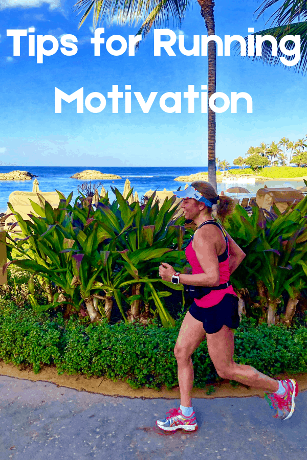 Fit Woman running in Hawaii