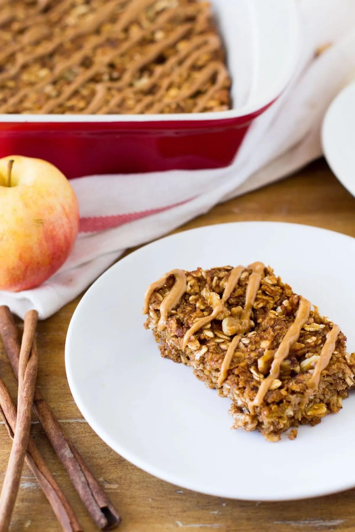 Cinnamon Apple Quinoa Bars