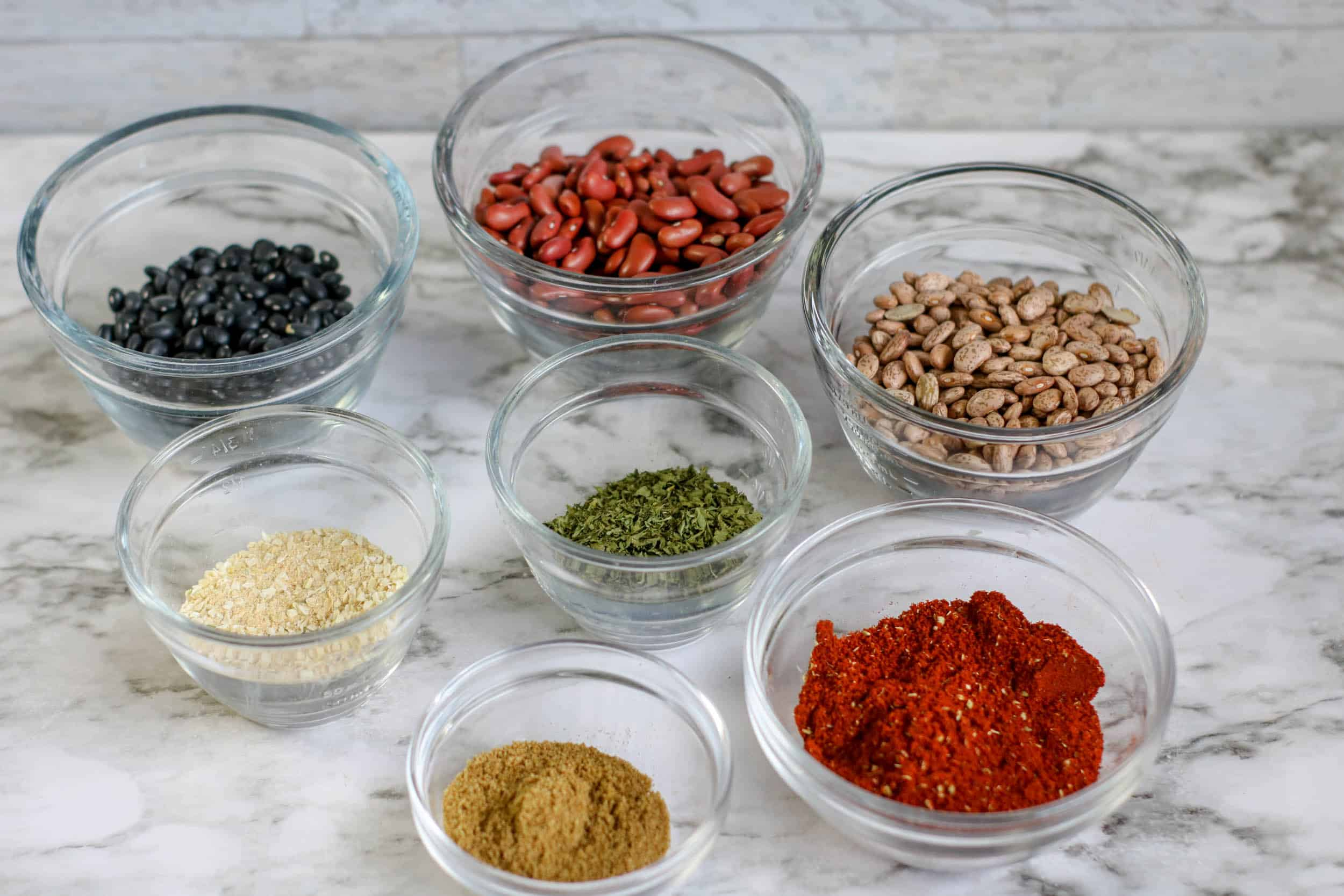 Three Bean Chili Mix Ingredients