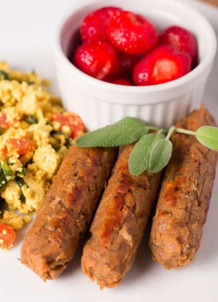 Vegan Breakfast Sausage Links