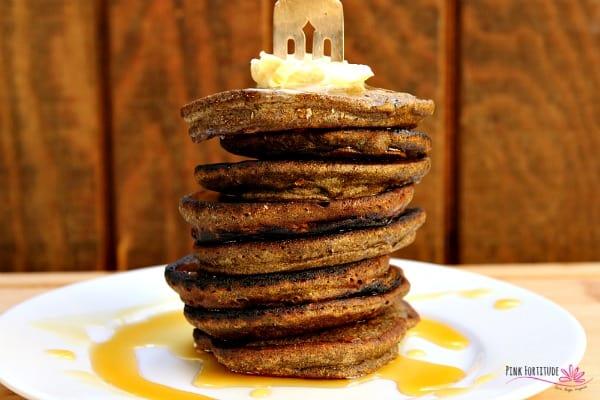 Buckwheat Pumpkin Pancakes