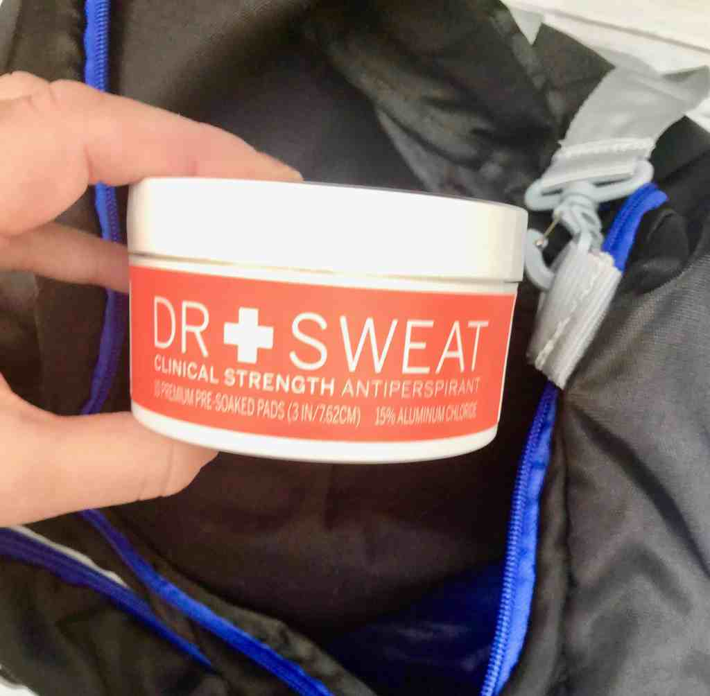 Dr. Sweat Clinical Strength Antiperspirant Deodorant Pads