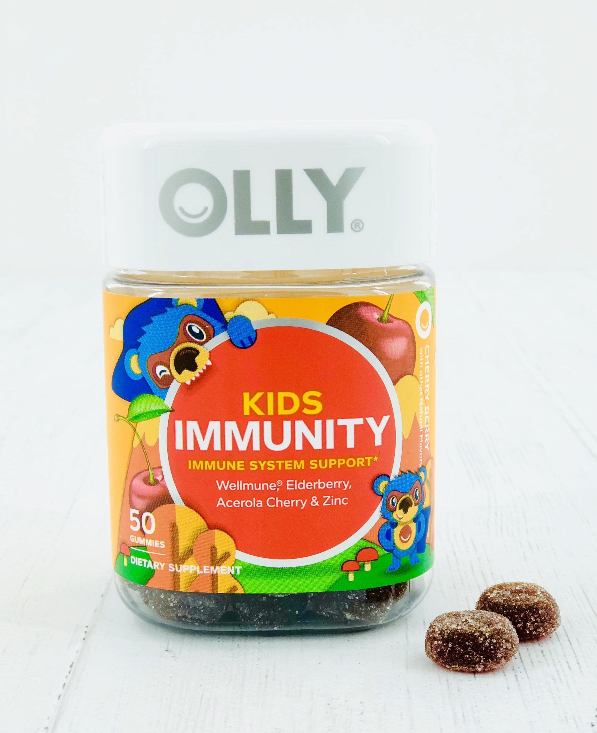 Olly vitamins that contain Wellmune.