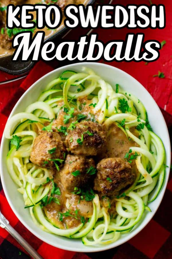 The Best Keto Swedish Meatballs
