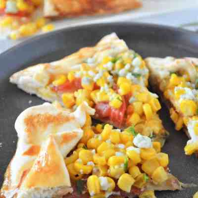 Savory Galette with Corn and Tomatoes