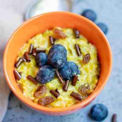 Vegan Homemade Pumpkin Oatmeal