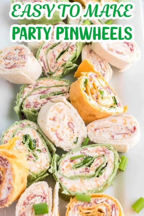 Easy Party Pinwheels Pin