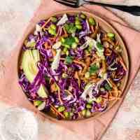 Overhead view of Sesame Chicken Salad