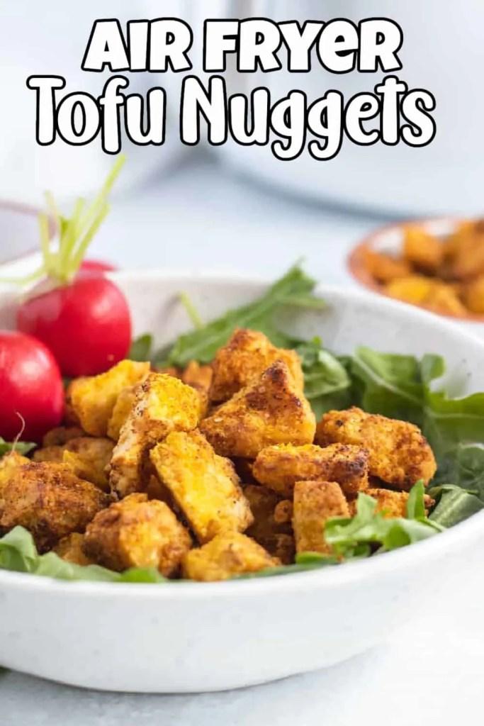 Air Fryer Tofu Nuggets Pin