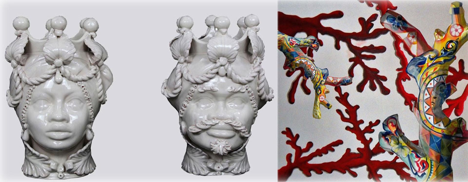 La forma in terracotta è stampata e modellata a mano. Storia Della Ceramica Siciliana Di Caltagirone Un Affascinante Viaggio Attraverso I Secoli
