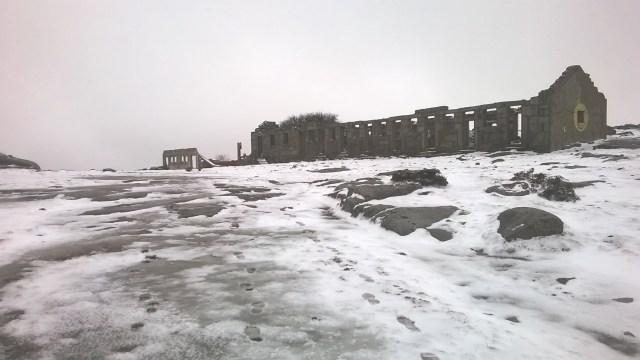 Neve no Gerês em 2016