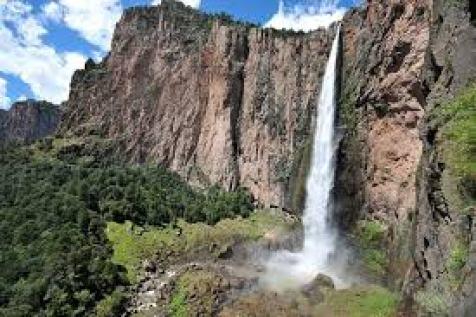 cascada de basaseachic