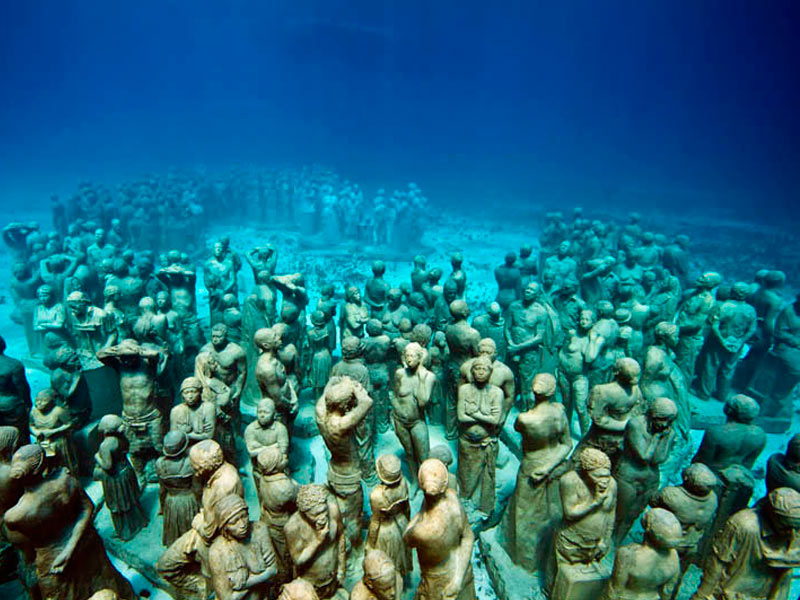 museo subacuático cancún