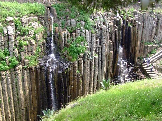 prismas basálticos en hidalgo
