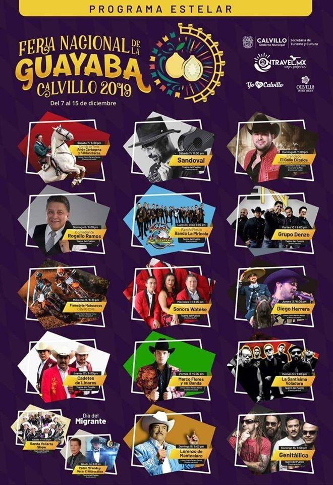 programa feria de la guayaba calvillo 2019