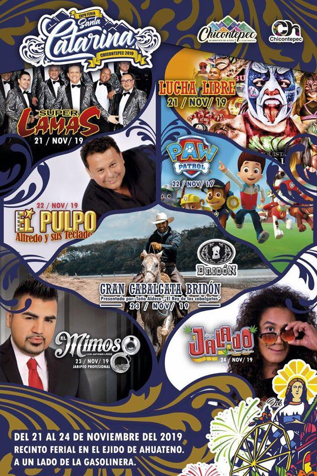 feria santa catarina chicontepec 2019 programa