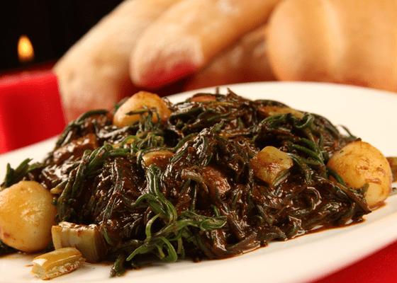 receta romeritos con mole