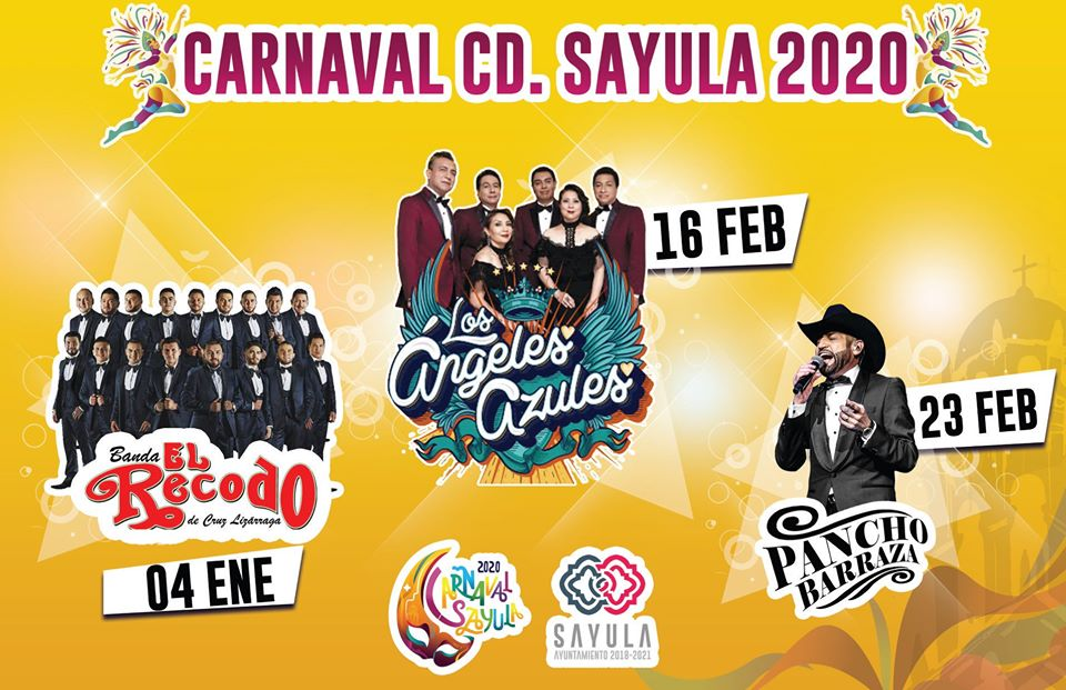 carnaval sayula 2020 artistas