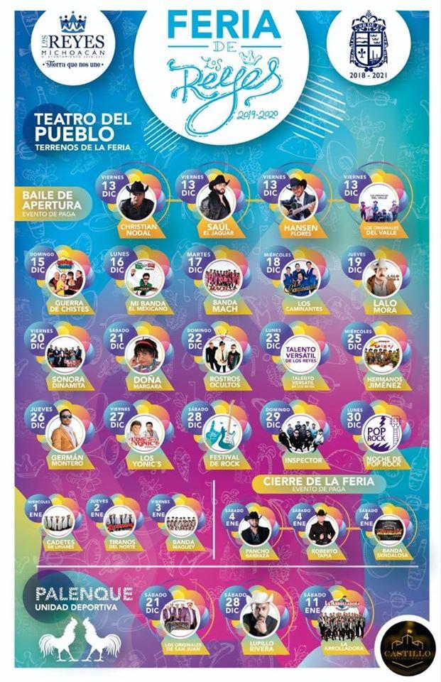 feria de los reyes michoacán 2020
