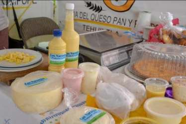 feria del queso pan rompope tehuixtla 2021