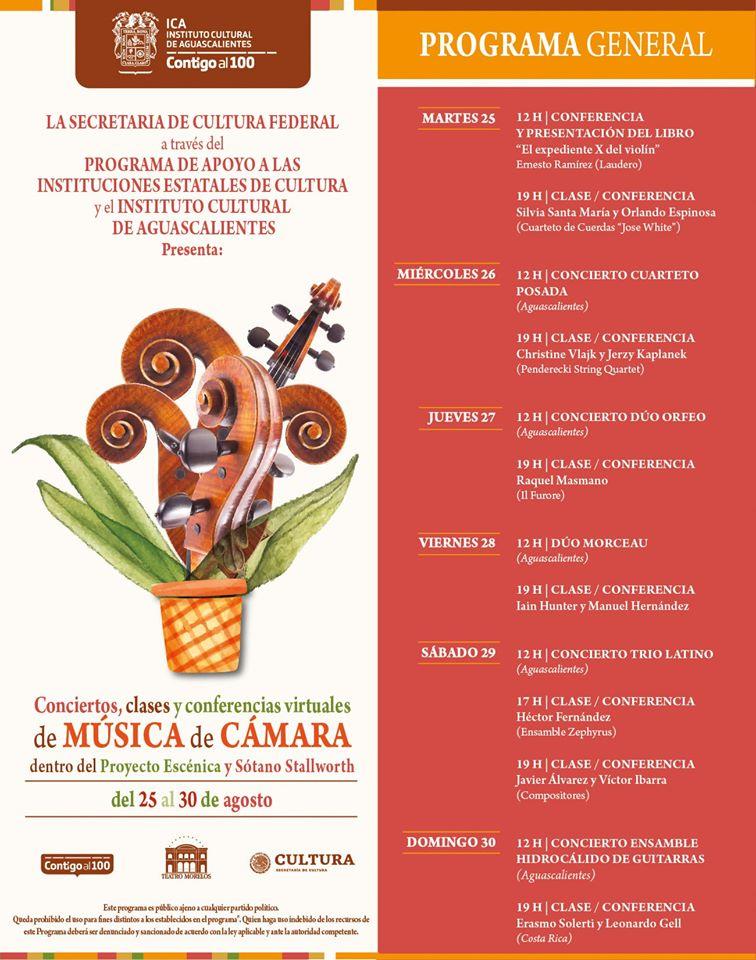 programa encuentro de musica de camara