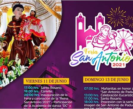 fiesta san antonio ixmiquilpan 2021