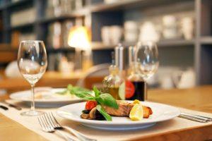 Food Plate Arrangement