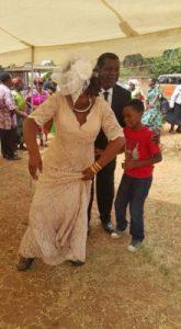 Musa behind the woman; no more