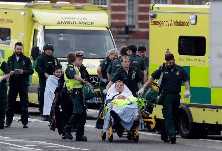 UK - Parliament Attack