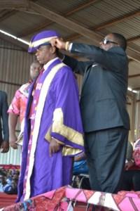 President Mutharika crowns Paramount Chief Ngolongoliwa