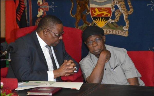 Mutharika and Obasanjo