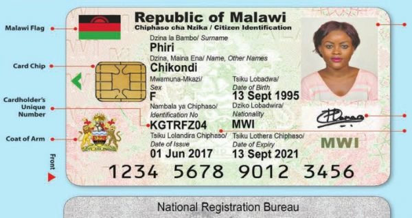 National IDS For Malawi