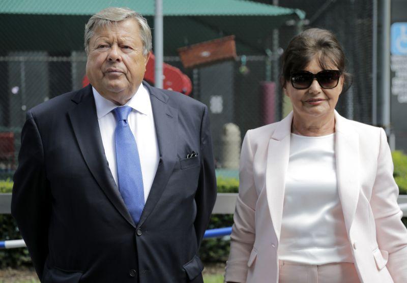 Viktor and Amalija Knavs, the parents of first lady Melania Trump