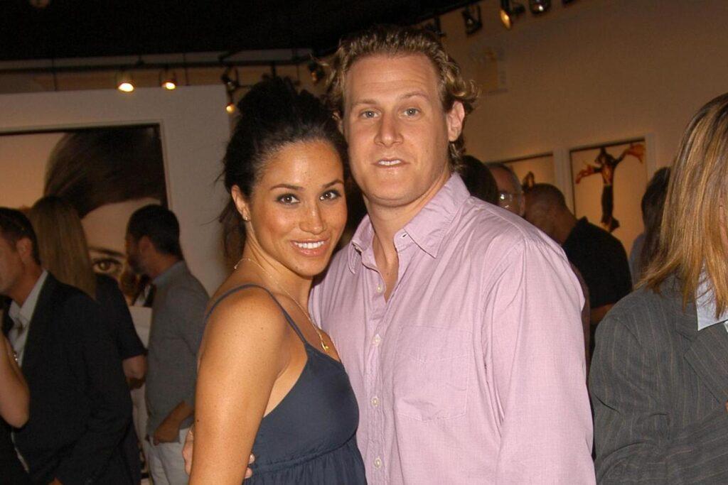 Meghan Markle and EX-Husband trevor engelson