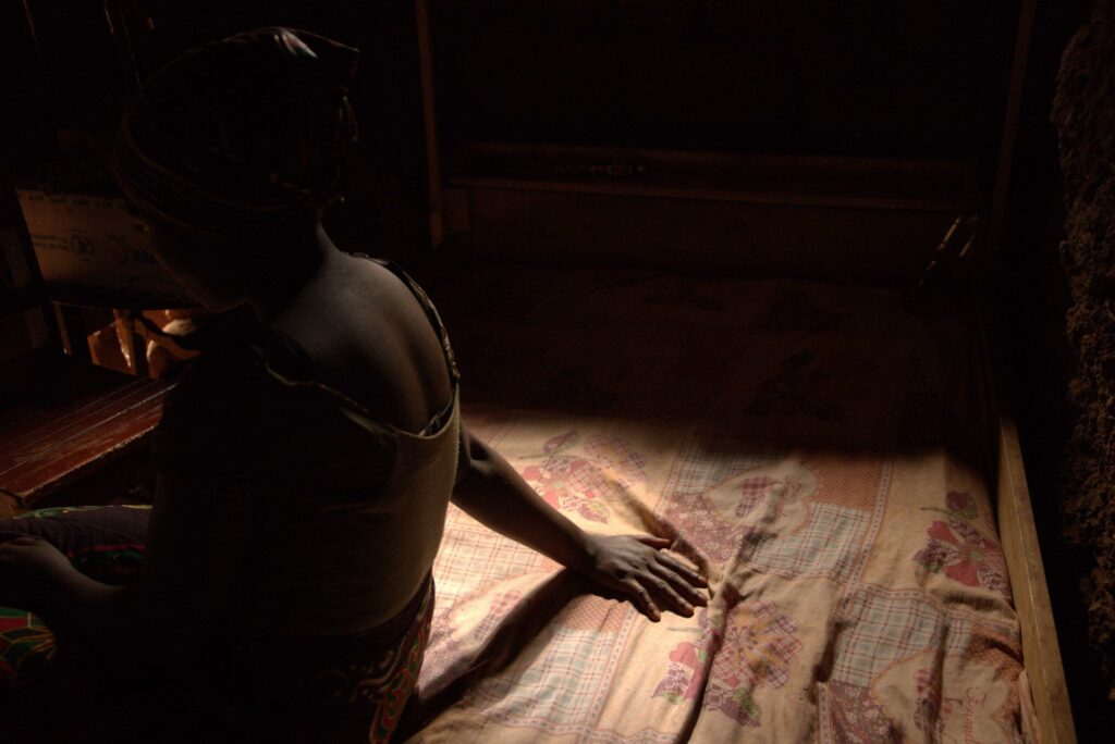 Elisabeth was a young girl when she was raped by a man.