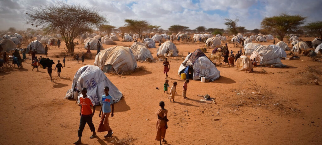 Muhidin Libah lived for ten years in Dadaab refugee camp in eastern Kenya