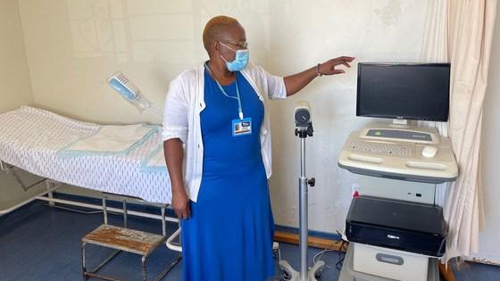 Dr. Nomonde Ndyalvan began working at the Sinawe Centre in 2002.