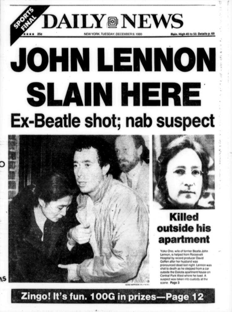 John Lennon died mocking god